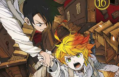 The promised neverland Tome 16 et Gag manga