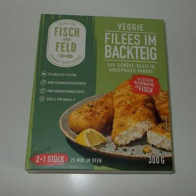 FRoSTA Fisch vom Feld Filees im Backteig