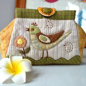 Folding Bag Tutorial. Patchwork and Quilting ~