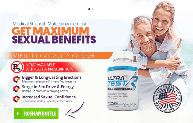 (Ultra Test XR)  —  100% Pure NATURAL & Long Time Suspend In Bed! Offer Only This Month