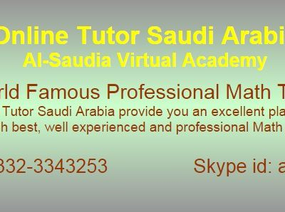 Online Mathematics Tuition Saudi Arabia
