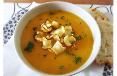 - Soupe aux carottes & aux panais -