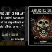 """Let's print the book """"AND JUSTICE FOR ART: Stories About Heavy Metal Album Covers."""""""