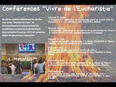 Conférences- l'Eucharistie de Carême au Temps pascal.