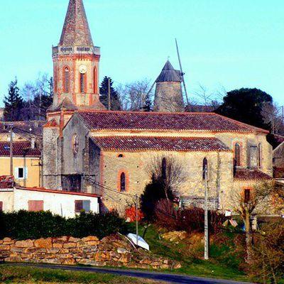 Voilà trois moulins d'Occitanie !