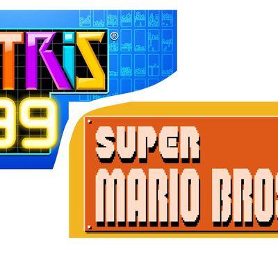 Tetris 99 vs Super Mario Bros. 35 - Nintendo Switch
