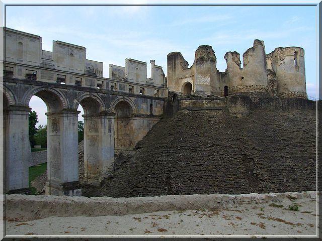 Diaporama du château de Fère-en-Tardenois