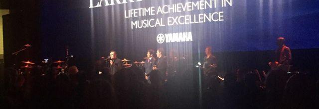 Larry Mullen Jr. est honoré par Yamaha le 20/01/2017