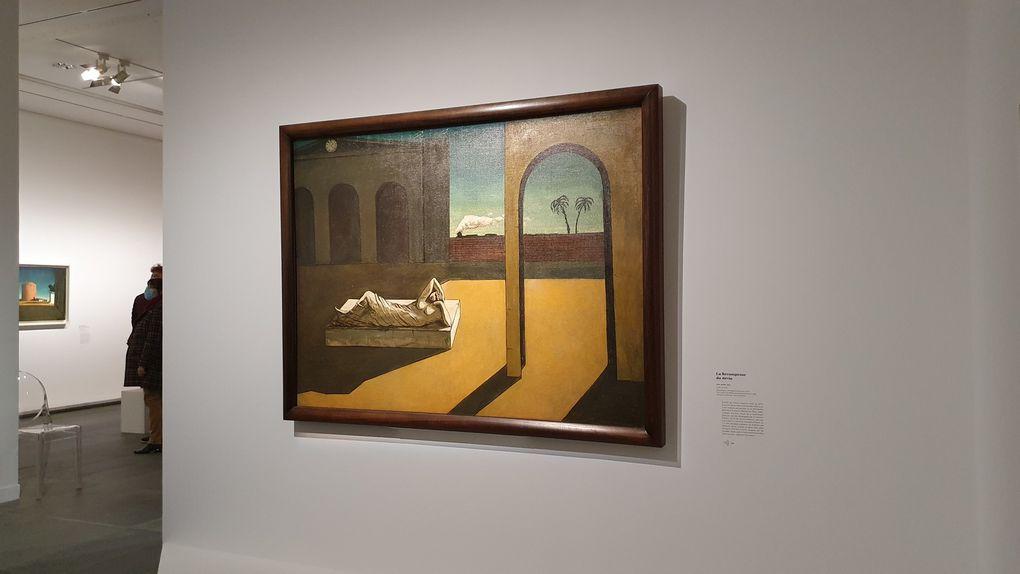 Giorgio De Chirico, la peinture métaphysique au musée de l'Orangerie
