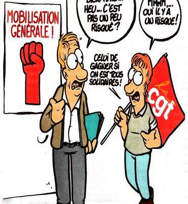 Rentrée sociale : En grève et dans la rue le 17 septembre