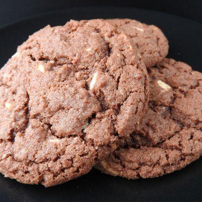 Cookies américains aux 2 chocolats