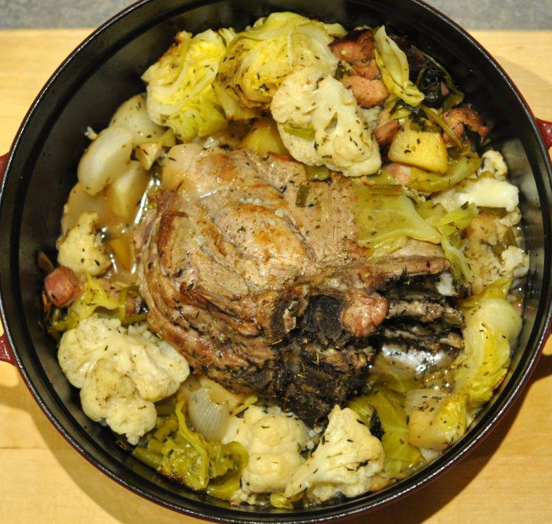 Carré de porc aux légumes d'hiver et le livre de Dorian à gagner!