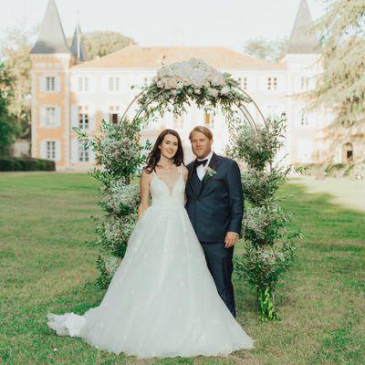 An elegant wedding - Château de Roquelune