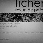 Dans Lichen 6, trois textes inédits de Carine-Laure Desguin - Carine-Laure Desguin, ses romans, nouvelles et poésies