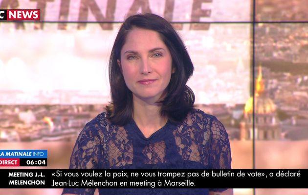 📸3 CLELIE MATHIAS @cleliemathias @JohannaCarlosD8 @cnews ce matin #LAMATINALEINFO #vuesalatele