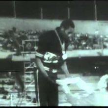 Jeux olympiques Mexico 1968. Smith et Carlos
