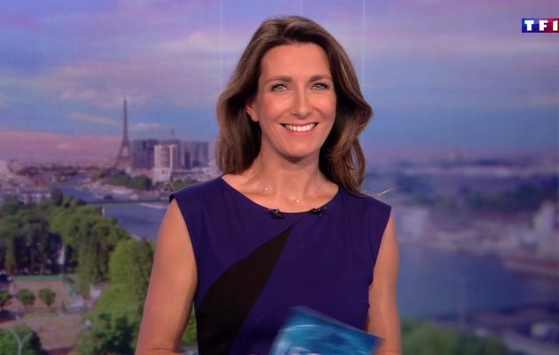 📸28 ANNE-CLAIRE COUDRAY @ACCoudray @TF1 @TF1LeJT pour LE 20H WEEK-END #vuesalatele