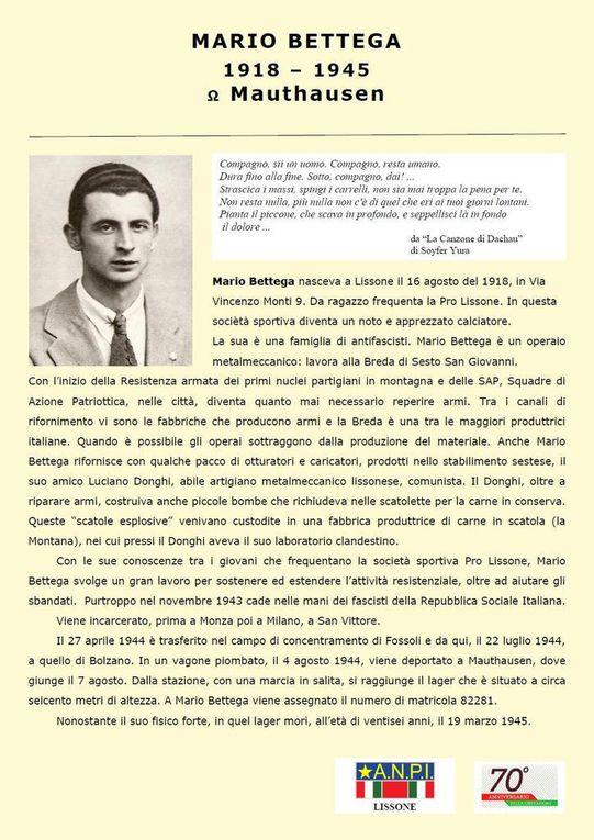iniziative per il 72° anniversario della Liberazione