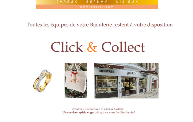 Evreux :  Le click and collect chez Odel' Or