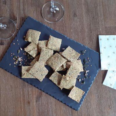 Crackers farine de maïs et graines