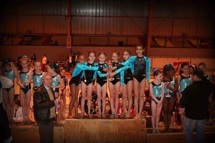 Les gymnastes vénissianes se sont illustrées lors des championnats départementaux UFOLEP - Photos : © CMOV Gymnastique