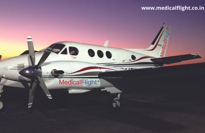 Medical Flight - Affordable air ambulance service in India