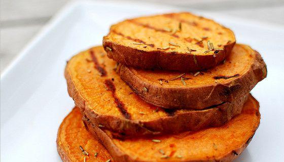 Patates Douces grillées au BarBecue