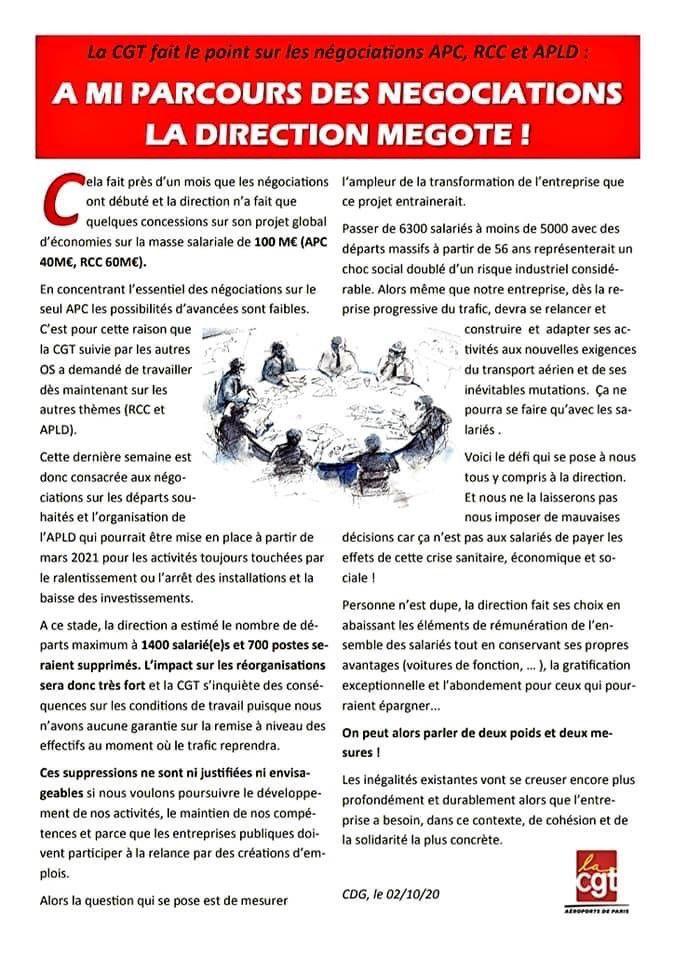Tous en grève et en manifestation sur Paris le 9 octobre