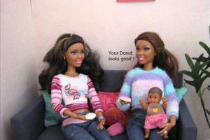 barbie doll story - Johnson family - part 3