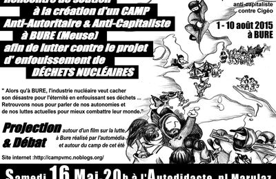 Bure: un camp anti-autoritaire et anti-capitaliste,