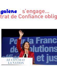Le nouveau contrat de confiance de Ségolène !