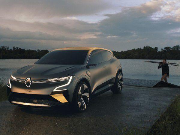 Renault Megane e-Vision: la berline 100% électrique!