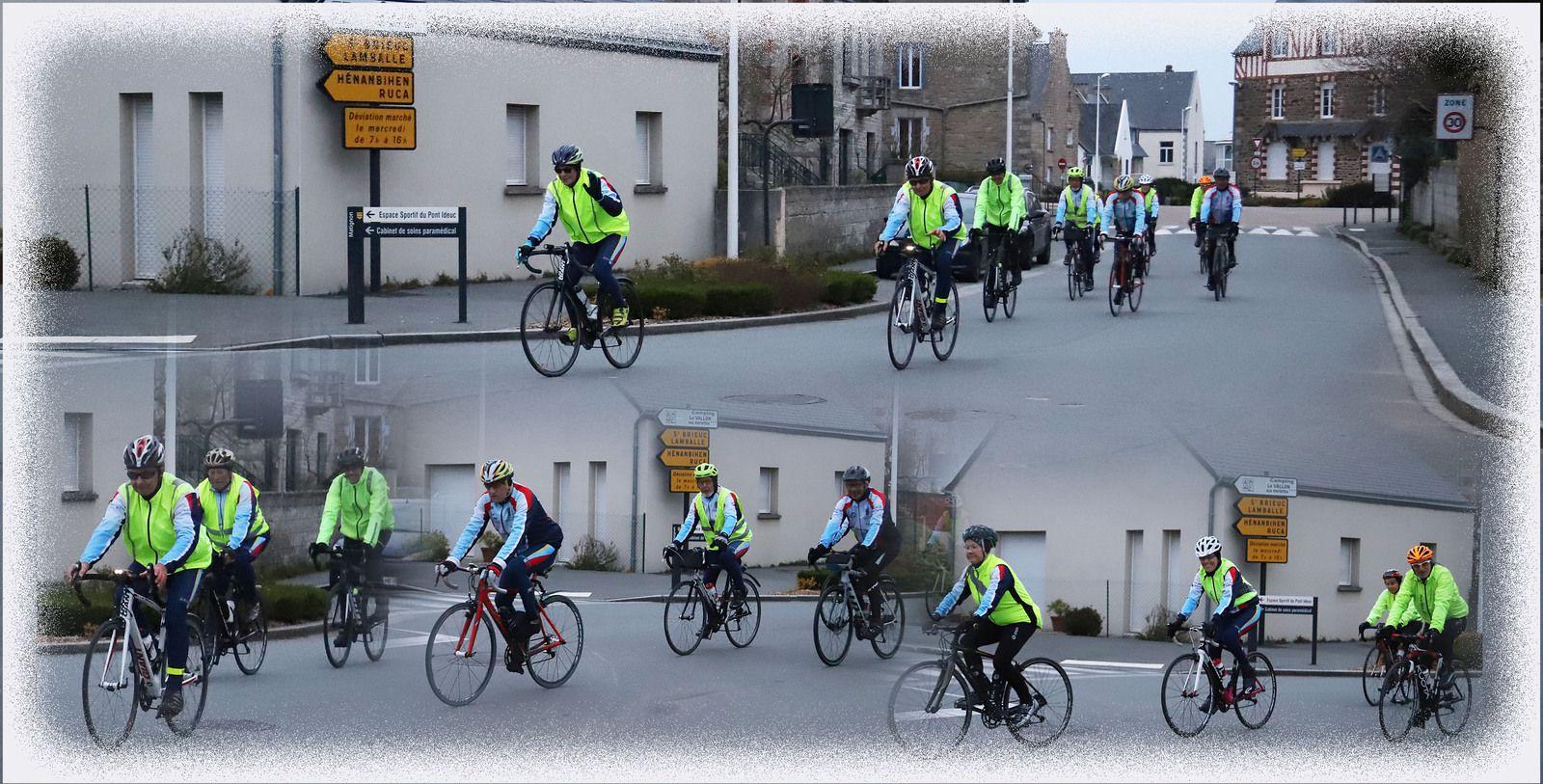 Brevet 100 km Cyclo Randonneur presqu'ile Castine le 21 mars 2021