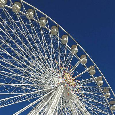 Une grande roue de 55 mètres aux barrages de l'Eau d'Heure
