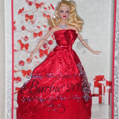 barbie collection happy holidays année 2012