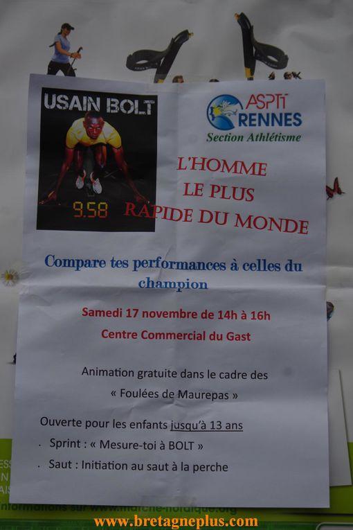 Photos de la 11ème édition des Foulées Maurepasiennes, organisées par le comité des fêtes de Maurepas, à Rennes.