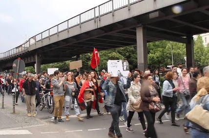 Ulrike Beudgen - Google+ - Solidemo in Berlin #occupygezi (?):