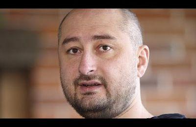 Toujours vivant : l'Ukraine annonce avoir mis en scène l'assassinat du journaliste russe Arkadi Babtchenko