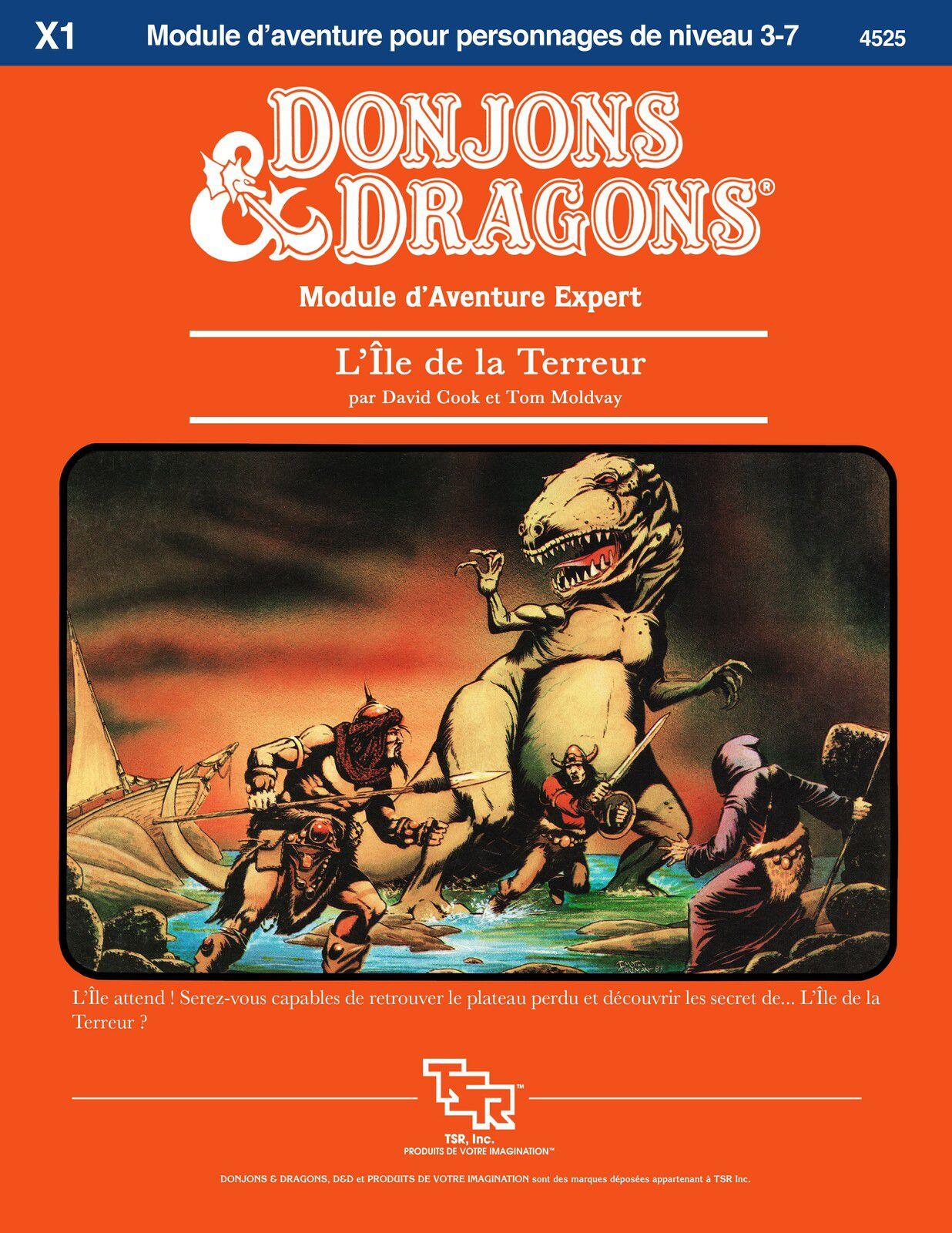 """Les restaurations du dragon : D&D module X1 """"L'île de la terreur"""""""