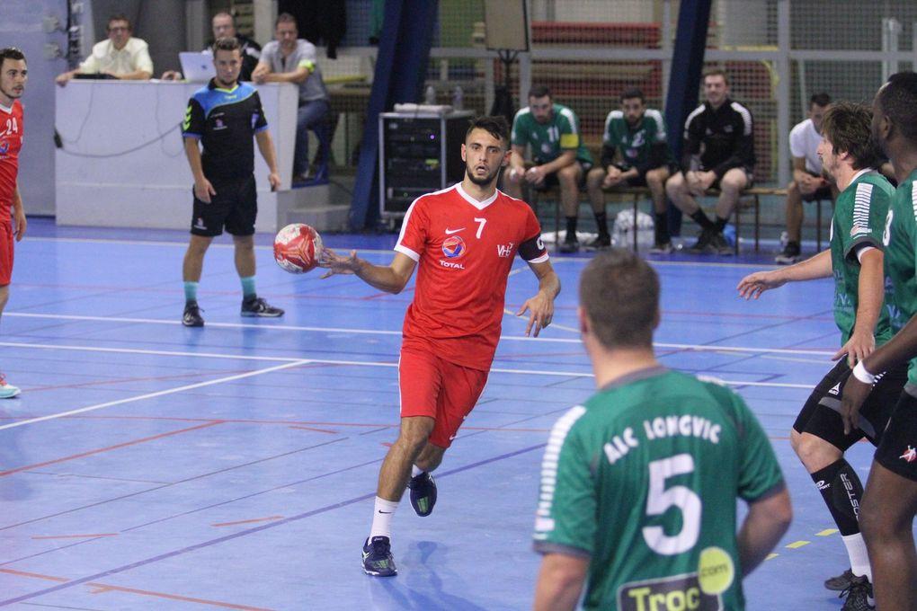 Première défaite de la saison pour les handballeurs vénissians