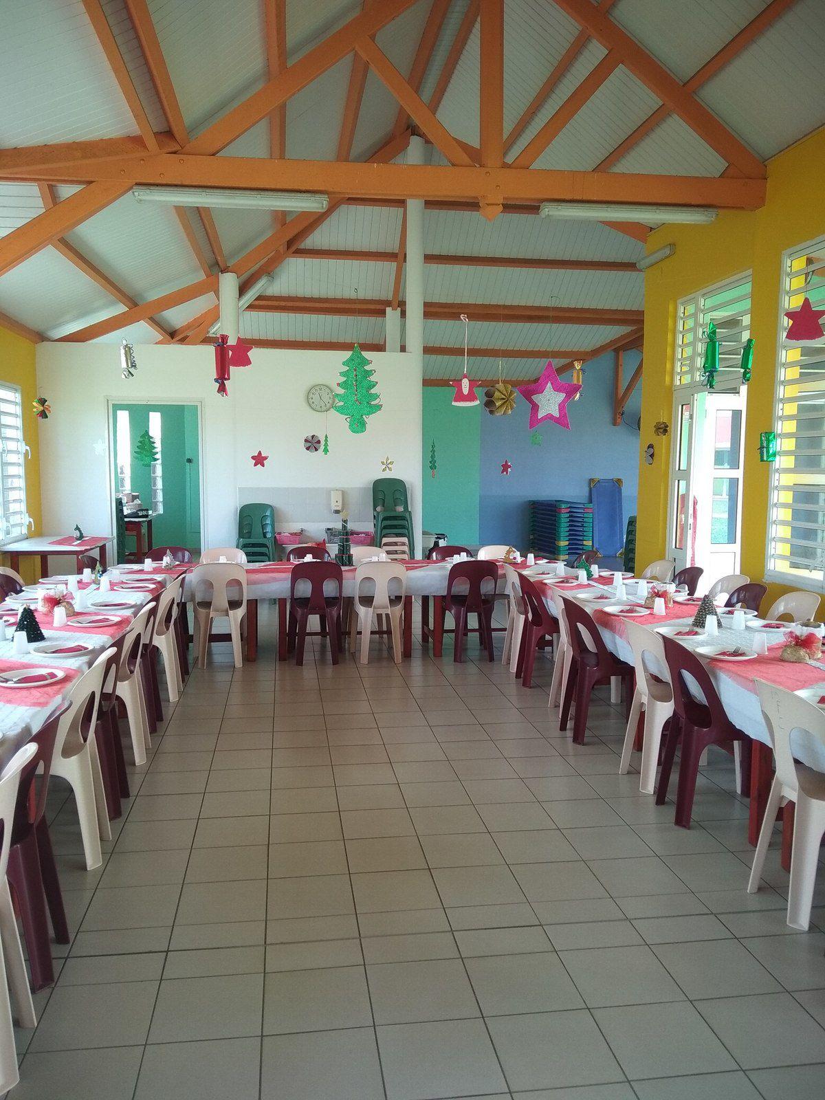Déco de table pour les enfants ( avec les collègues)