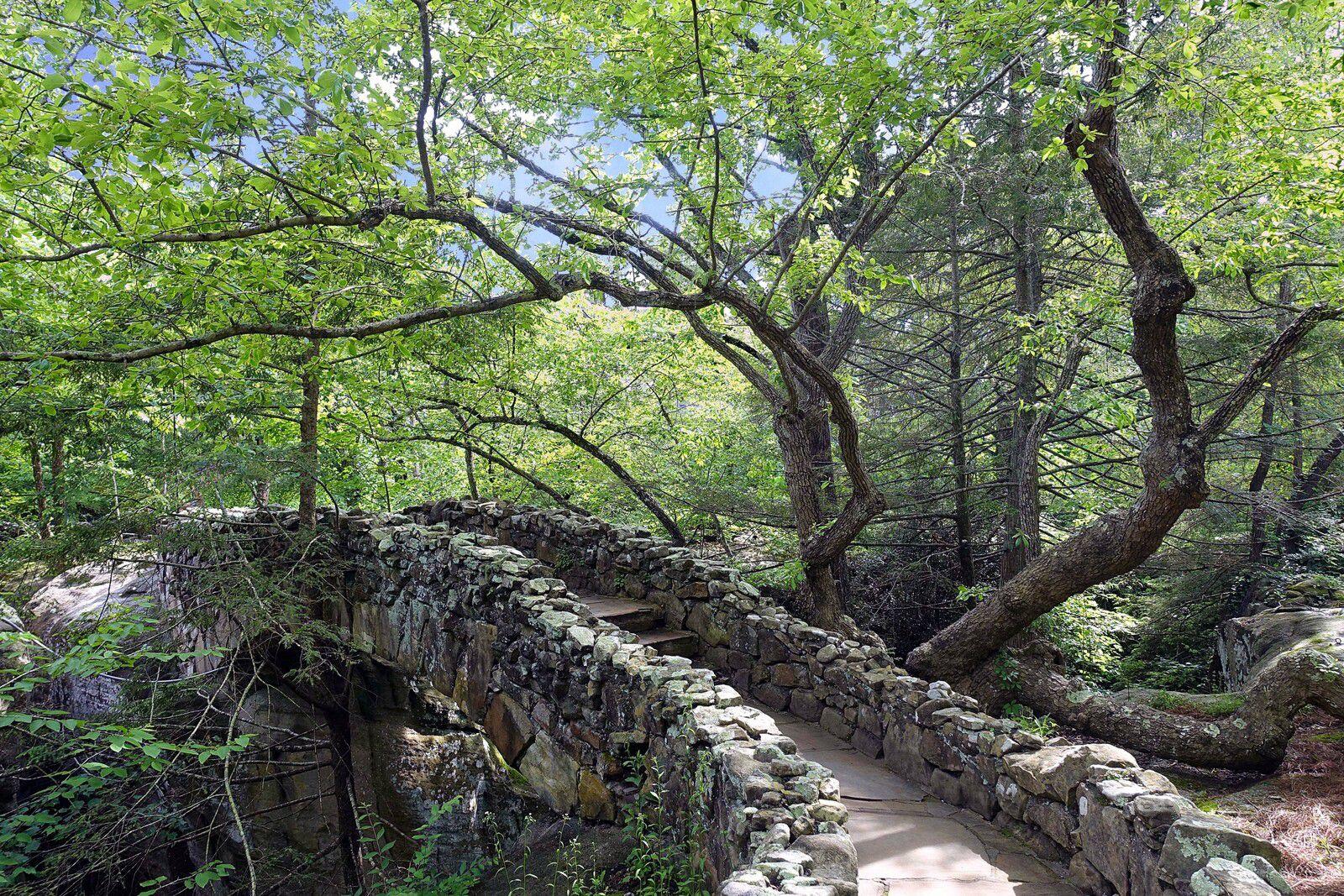 Rock City Gardens Stone Bridge