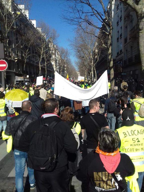 Manifestation Paris 23 février 2019