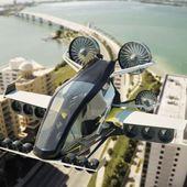 La voiture volante apres le drone taxi : un projet qui pourrait décoller du japon avec Uber Airbus Boeing ... Japan Airlines - OOKAWA Corp.