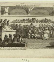 Le tribunal révolutionnaire...