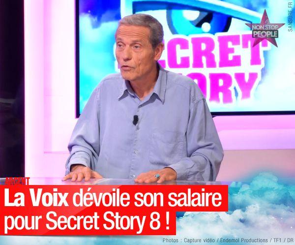 La Voix dévoile son salaire pour Secret Story 8 ! #SS8