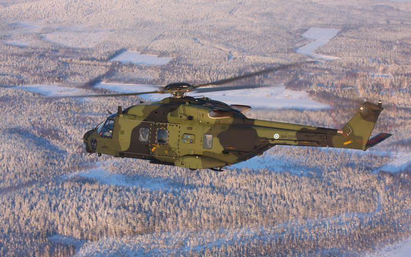 La Finlande a réceptionné son vingtième et dernier hélicoptère NH-90TTH