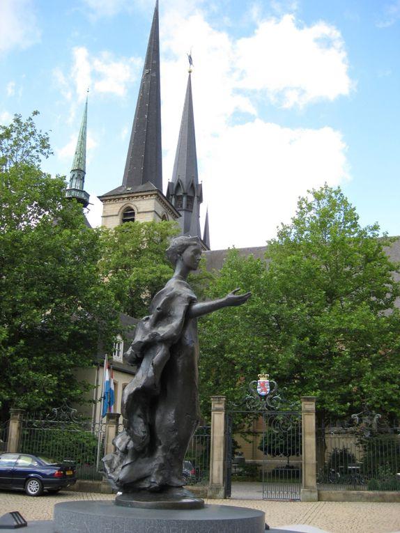 Week-end au Luxembourg avec au programme la ville haute, la ville basse, des bonnes balades et de bons restau !