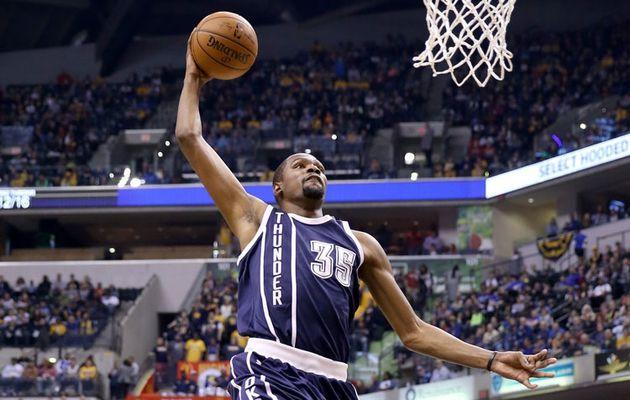 Le MVP de la nuit : Kevin Durant frôle le triple-double