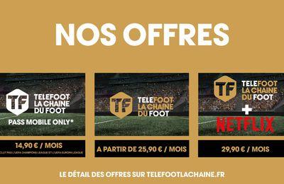 La chaine Telefoot dévoile ses offres d'abonnement